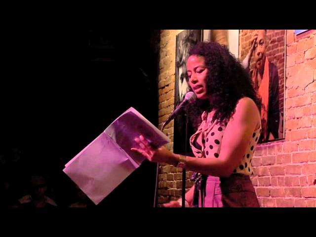 Aja Monet @ the Nuyorican Poets Cafe | NYC 31 August 2012