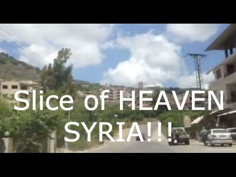 Slice of heaven, Syria a 5 minutes trip by car where I was born in Syria!
