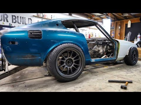 Going Low! Installing Air Suspension On The 240z