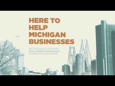 Here to Help Michigan Business | Pure Partnership | MEDC