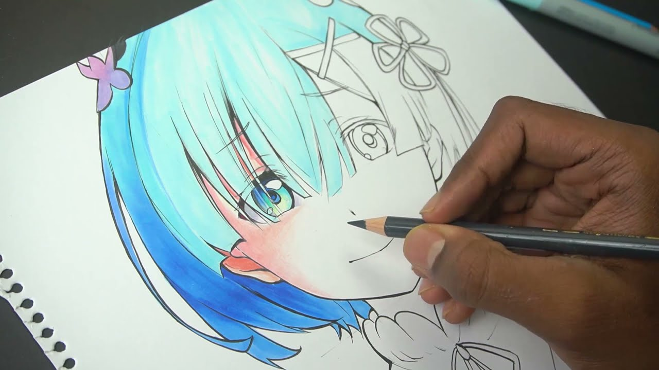 Real Time Drawing | How To Use COPIC Markers !!