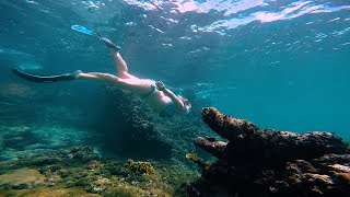 Beautiful freediving and snorkeling spot