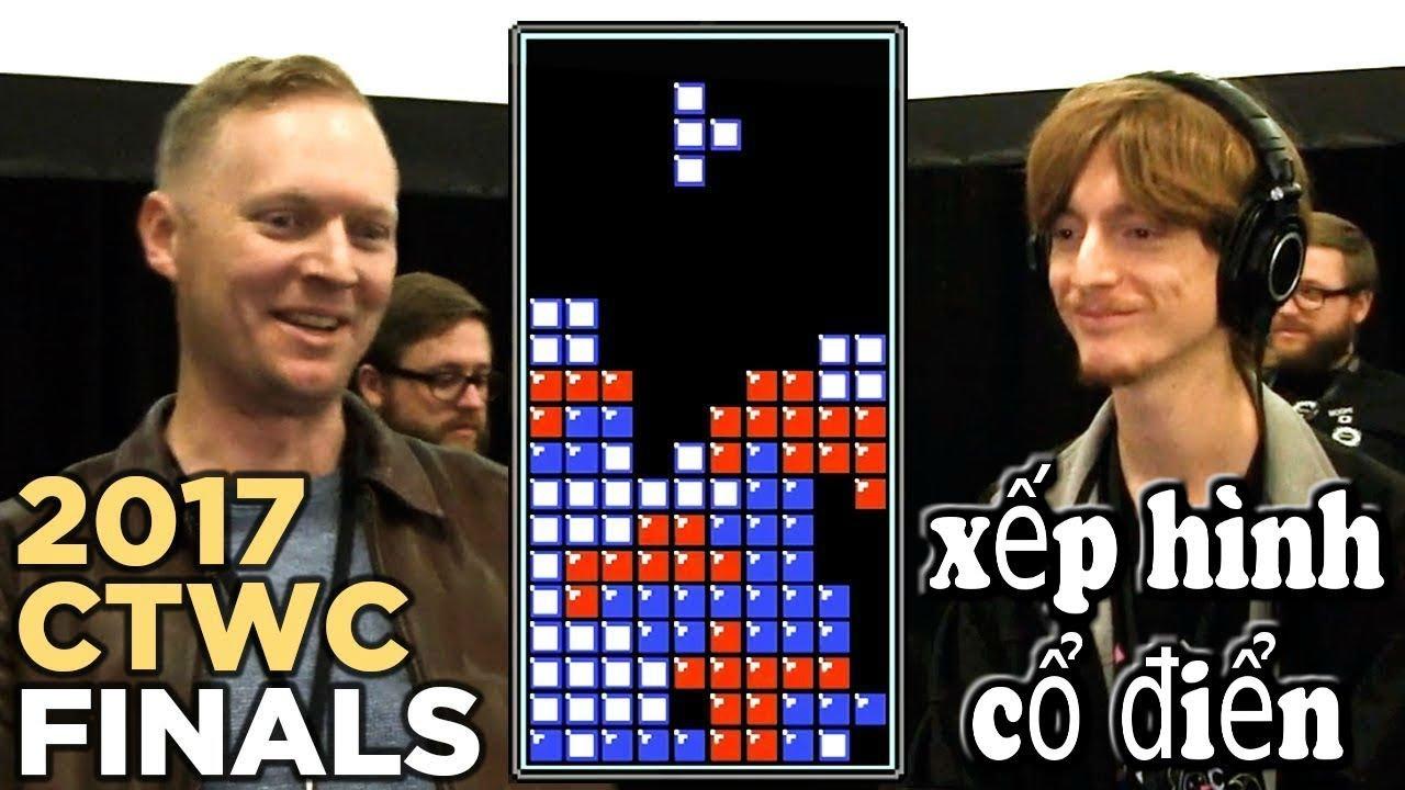 Final Classic Tetris World Championship 2017 - Chung kết giải game xếp hình cổ điển