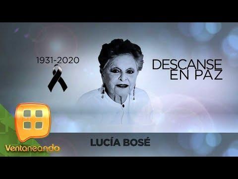 ¡Falleció Lucía Bosé, madre de Miguel Bosé! Recordamos su vida y trayectoria. | Ventaneando