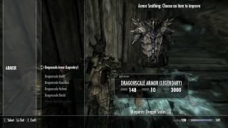 Skyrim Guide - Get Dragon Armor Fast [HD]