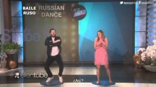 Chris Evans y Elizabeth Olsen bailando (Subtitulado)   Sin SentyDo