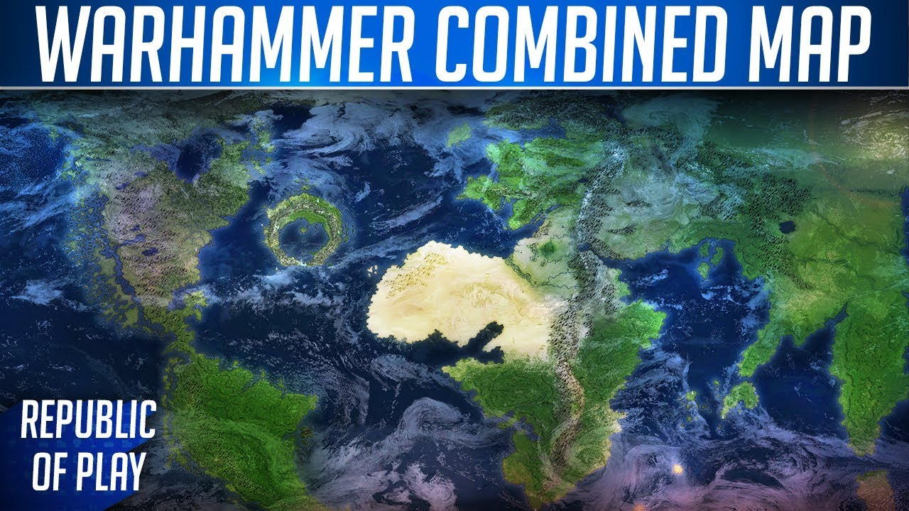 MORTAL EMPIRES - Total War: WARHAMMER 2 Combined Map Details