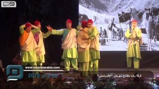 مصر العربية |  فرقة رضا بافتتاح مهرجان