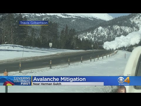 Traffic Slowly Resuming Along I-70 After Day-Long Avalanche Mitigation Work