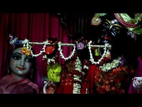 Beautiful  Mangal  Arati Darshan of Sri Nrisimhadev and Sri Panchatattva  Radha Madhava 18/01/2019