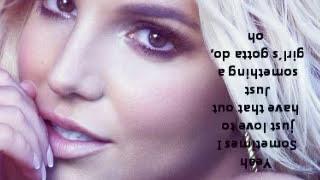 Britney Spears - Showdown ( Full Song ) with lyrics