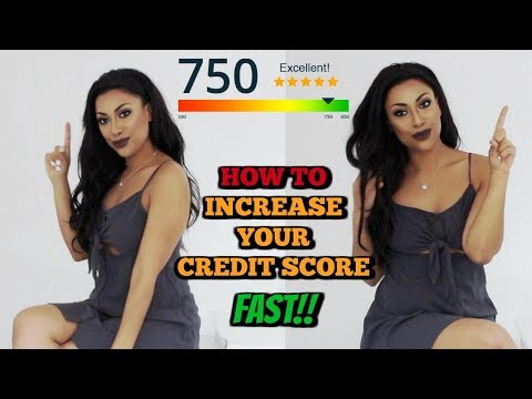 HOW TO INCREASE YOUR CREDIT SCORE FAST?! THE BEST CREDIT SCORE TIPS