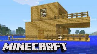Minecraft: A CASA NO MEIO DO MAR! - Sobrevivendo com Lipão #32