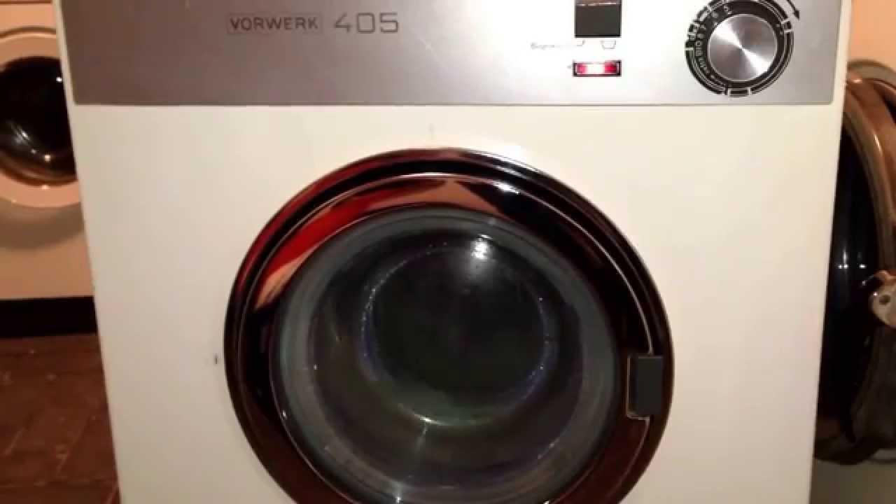 waschmaschine vorwerk 405 youtube. Black Bedroom Furniture Sets. Home Design Ideas