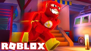 Le FLASH dans ROBLOX 'NEW GAME' (Roblox The Flash)