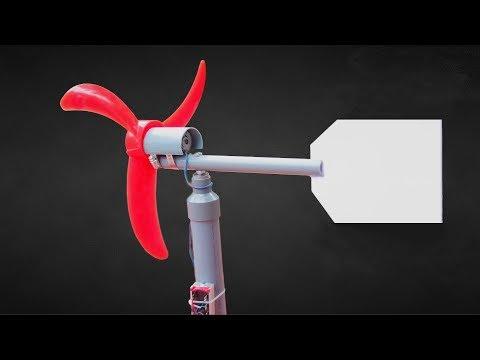 How to Make Wind Turbine Generator - Clean Energy