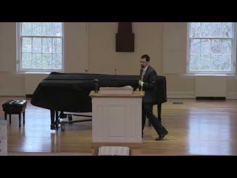 King University Institute for Faith and Culture March 19 - Benjamin Tkach