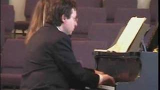 Brahms Hungarian Dance for Piano 4 Hands #5 in Fa# Minor, Allegro