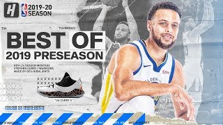 Stephen Curry BEST Highlights & Plays from 2019 NBA Preseason!