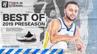 Stephen Curry BEST Highlights u0026 Plays from 2019 NBA Preseason!