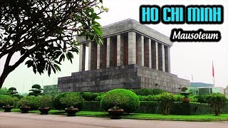 [DK] Ho Chi Minh's mausoleum, stilt house, fish pond, one pillar temple