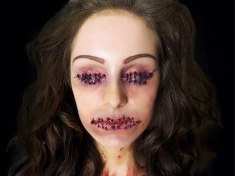 Sewn Shut Special FX Makeup