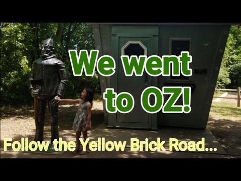 We went to Oz! Storybook Land Aberdeen South Dakota