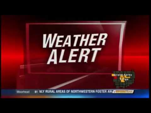 (KVLY) Tornado Warning - Foster/Wells County, ND (July 9, 2016)