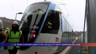 Yvelines | Le tram 13 entre Saint-Cyr-l'École et Saint-Germain-en-Laye devrait ouvrir en 2022