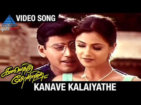 Kannethirey Thondrinal Tamil Movie Songs | Kanave Kalaiyathe Video Song | Prashanth | Simran | Deva