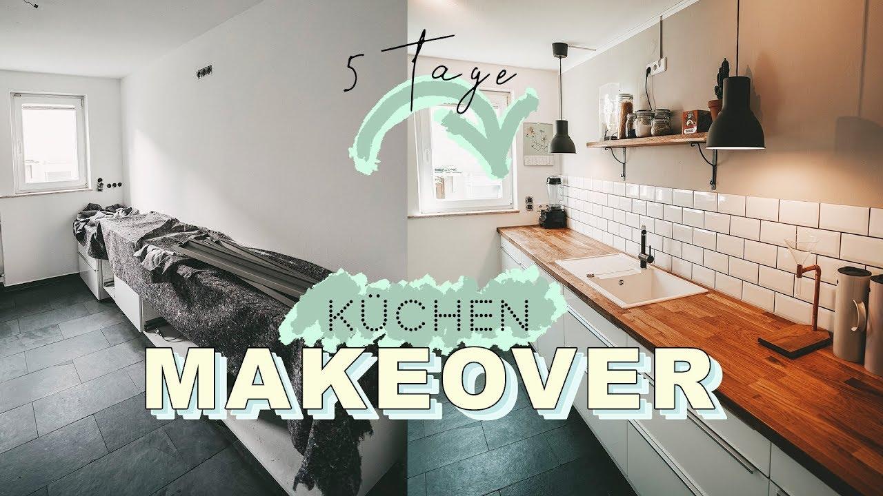 Kuchen Makeover Skandinavisch Modern Kuche Renovieren In 5 Tagen Easy Alex