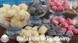 4 Sabores de Bala de Brigadeiro  – Faça e Venda