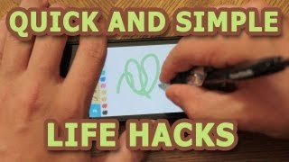 Quick and Simple Life Hacks - Part 1 thumbnail