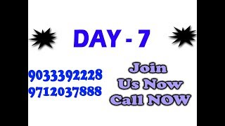 Profit Day 7   Join Us Now   9033392228  97120 37888