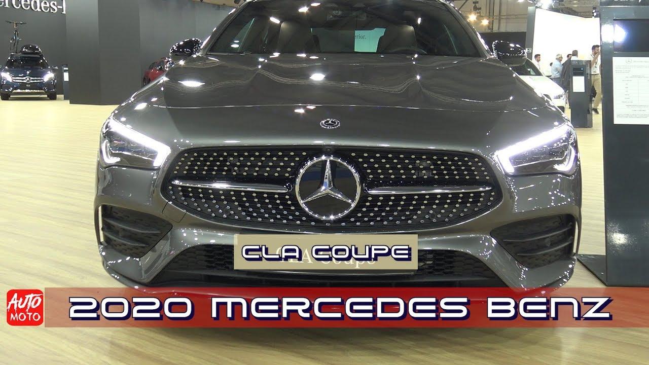 2020 Mercedes Cla 200 Coupe Exterior And Interior 2019 Automobile Barcelona