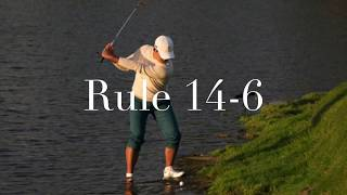 9 Weird Shots the Rules of Golf say you are Free to Hit
