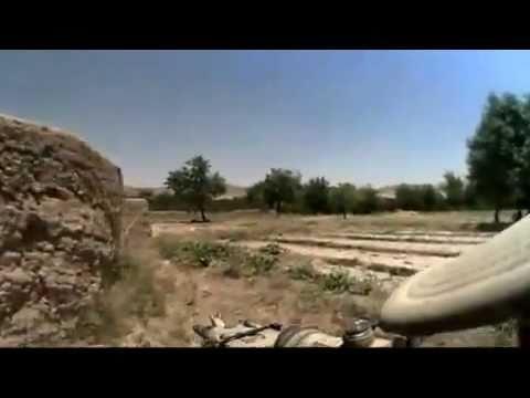 Afghanistan War  - Australian SASR - Firefight - Helmet Cam