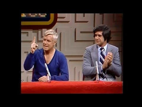 Password Plus 1979:  Unaired on NBC, due to George Peppard's rant!