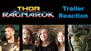 Thor: Ragnarok Teaser Trailer REACTION!