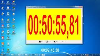 STOPWATCH DAN TIMER   CONTROL SOFTWARE   CLOCK screenshot 2