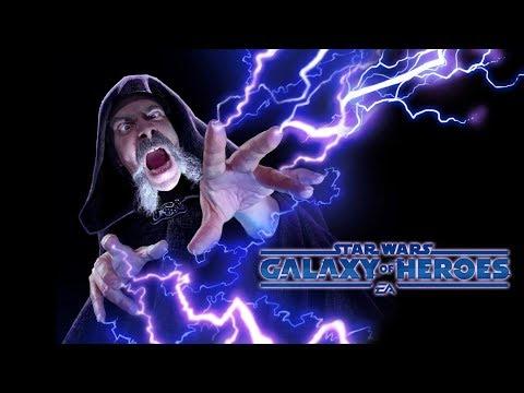 Star Wars: Galaxy Of Heroes|SWGOH: Чекаю аккаунты и бомблю от багов))))