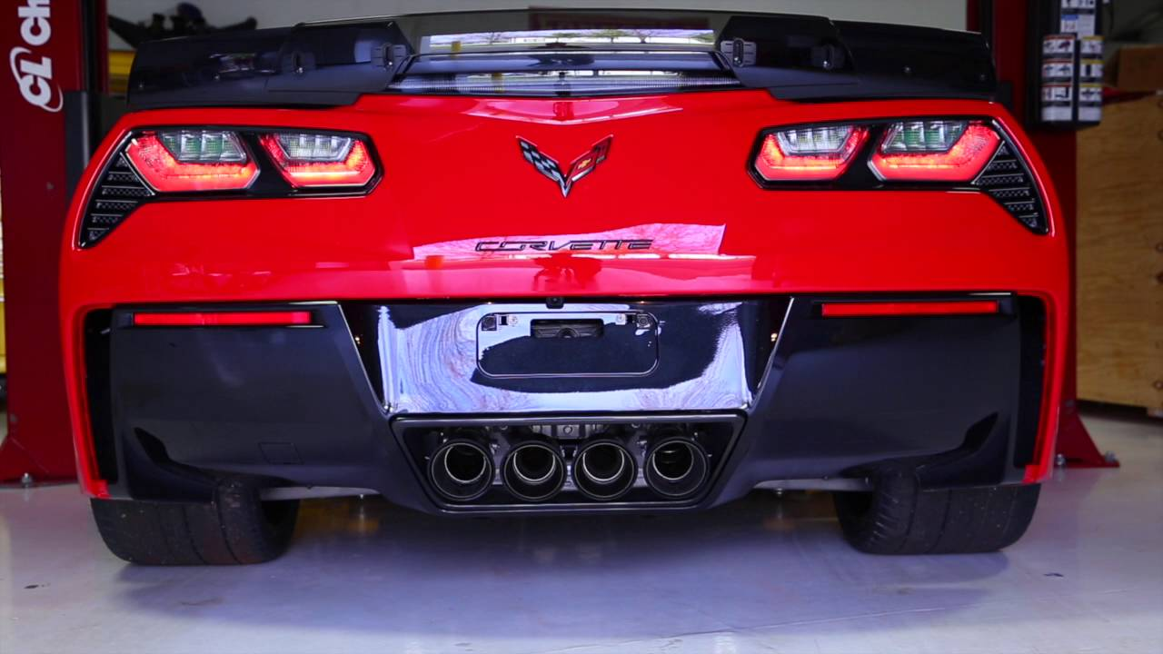 Z07 >> Z06 Corvette sound with Akrapovic Exhaust! - YouTube