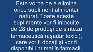 Otrava Din Farfurie! Codex Alimentarius