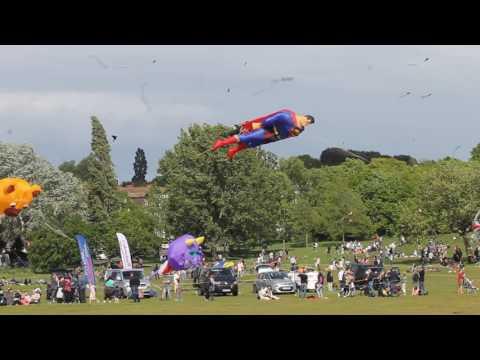 Streatham Common Kite day 14 - 5 - 2017
