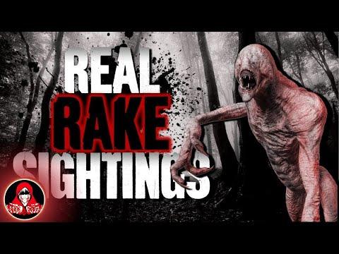 5 REAL Sightings of The Rake and Fleshgaits