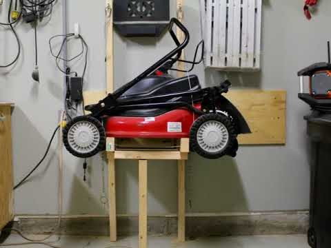 Garage Storage Ideas For Lawn Equipment