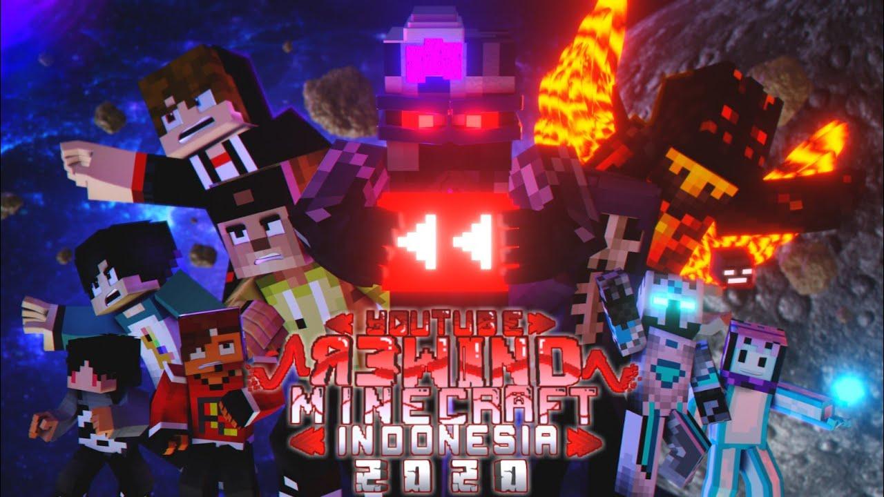 Download YouTube Rewind Minecraft Animation Indonesia 2020    New Friend, New Enemy   
