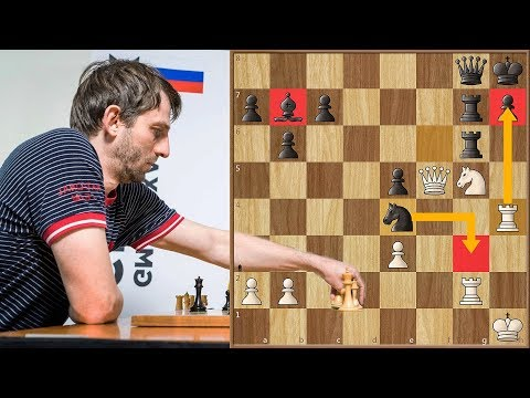 An Enjoyable Tactical Game by Grischuk and Caruana from Champions Showdown 2017