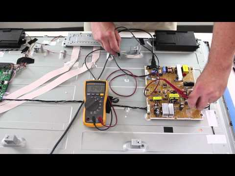 Vizio E470i-A0 Blank Screen No Backlights - How to Test Power Supply / Inverter & LEDs