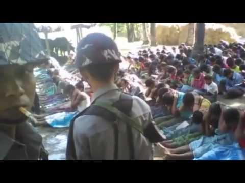 Myanmar police officer 'films beatings' BBC News